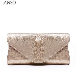 clutch bags white gold color 2019 - 2017 Spring Purses Holders enuine Leather 3D Embossing Alligator Ladies Crocodile Casual Bags Wallets Women Day Clutch c