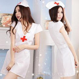 $enCountryForm.capitalKeyWord NZ - Doctor nurse loaded sexy lingerie sexy temptation sexy tight dress nurse loaded hospital role-playing S M XL MOXIAN game character QN40A1158