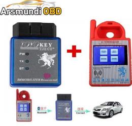 $enCountryForm.capitalKeyWord Australia - Bluetooth Mini CN900 Transponder Key Programmer Plus TOYO Key OBD II Key Pro for 4C 46 4D 48 G H Chips Funtion For All Lost