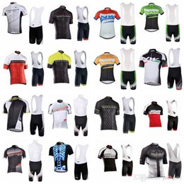 Discount maillot bib - NW Bicycle 2018 Men Summer Cycling Short Sleeve jersey Shirt MTB maillot ciclismo hombre Bike Bib shorts set clothing E5
