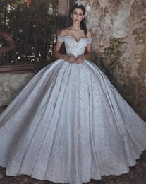 $enCountryForm.capitalKeyWord NZ - 2019 Vintage Long Sleeve Beading Crystal Bandage Wedding Dresses Backless Glamorous Custom Made Off The Shoulder Sweetheart Bridal Gowns