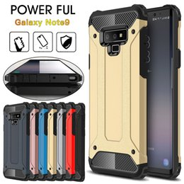 Chinese  For Galaxy NOTE 9 Phone Case Hybrid Rugged Cover Slim Armor Protector Cover for Samsung Note9 S9 S9Plus J7 DUO A5 A7 2018 manufacturers