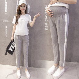 $enCountryForm.capitalKeyWord Australia - Gestante Sale New Spring And Autumn 2018 Maternity Pants Thin Trousers Loose Abdominal Outer Wear Backing For Pregnant Women