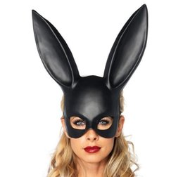 $enCountryForm.capitalKeyWord UK - Bunny Girl Mask Half Face Rabbit Ear Shape Masks For Christmas Halloween Party Cosplay Glyptostrobus