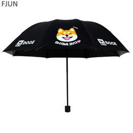 kids cartoon umbrella 2019 - Newly-designed Cartoon spoof emoji kids Umbrella students funny 3 Folding parasol Gift Sunny Rainy Umbrella rain Women p