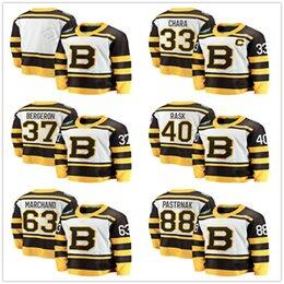 4af86e4d4 2019 Winter Classic Boston Bruins Hockey Jerseys 33 Zdeno Chara 37 Patrice  Bergeron 63 Brad Marchand 40 Tuukka Rask 88 David Pastrnak Jersey