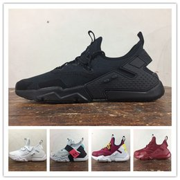 sneaker women huarache Australia - huarache 6.0 Running Shoes knit Designer shoes Sneakers luxury Black White Mens shoes Women Trainers Casual Hiking Jogging Outdoor Sport hot