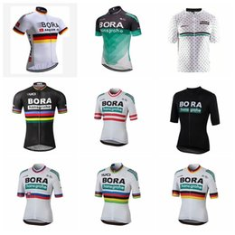 Lycra Sports NZ - BORA team Cycling Short Sleeves jersey Bicycle Breathable sport wear cycling clothes Bicycle Clothing Lycra summer MTB Bike 9720F