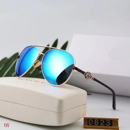 China Medusa High quality brand designer fashion men 0823 sunglasses female models retro style Sun Glasses Unisex with Original box suppliers