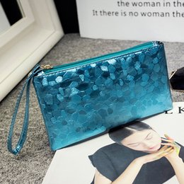 handmade leather coin purse wholesale NZ - New Women Coin Purse Clutch Women Bags Designer Ladies Handbag High quality Pu leather Fashion Solid Handmade