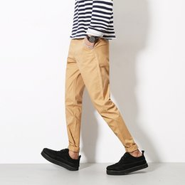 Discount spell clothes - Brand clothing 2018 spring hot new men's casual trousers men spell color colorful striped tide men's trousers