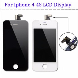 $enCountryForm.capitalKeyWord NZ - Grade A+++ High Quality LCD Display for iphone 4 4s Touch Digitizer Complete Screen with Full Frame Assembly Replacement