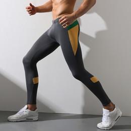 Toptan satış 2018 Sıcak Satış erkek Paçalı Don Pamuk Termal Iç Çamaşırı Rahat Külot erkek Tayt Sonbahar ve Kış Sıcak Bodysuit