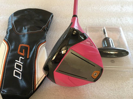 Loft goLf driver online shopping - 100 OEM Pink G400 Max Driver G400 Max Golf Driver Golf Clubs Loft Graphite Shaft With Head Cover