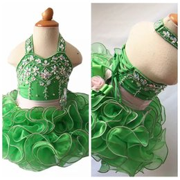 $enCountryForm.capitalKeyWord Australia - Available 2019 Halter Baby Girls Cupcake Mini Dresses Toddler Short Birthday Party Gowns Infant Tutu National Halter Pageant Cupcake Dresses