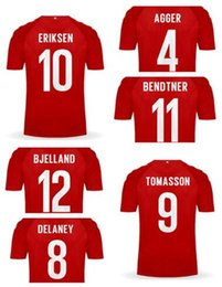 jersey thai quality 2019 - customized 2018 new DENMARK Home red Thai Quality Soccer Jerseys shirts,10 ERIKSEN 4 AGGER 11 BENDTNER 9 TOMASSON 12 BJE