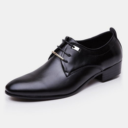 df9f0aa3c pointed toes formal shoes for men wedding shoes for men 2019 mens office  shoes black brown business casual large size sepatu pria ayakkab