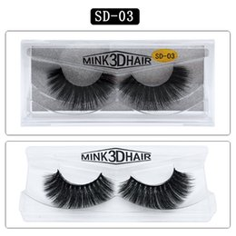 styles c Australia - Top Quality 3D Mink False Eyelashes Makeup 100% Real Mink Natural Thick False Fake Eyelashes 15 Styles Eye Lashes Makeup Extension Beauty