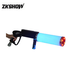Nice coNtrols online shopping - Nice LED Pistolet CO2 Guns Spray Light DJ Disco Party Wedding Stage Lighting Effect Equipment Controlled By Handle