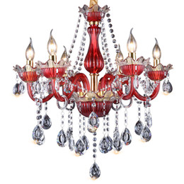 vintage crystal champagne glasses Canada - Traditional Design Crystal Chandelier Light E14 6 8 12 15 18 light High Quality K9 Chandelier for hotel dining room chandeliers china