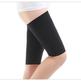 d5bf46e614 1Pair Useful Thin Thigh Leg Shaper Burn Fat Socks Compression Stovepipe Leg  Slimming