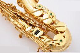 New SUZUKI Alto Brass Saxophone High Quality Eb Tone Gold Lacquer Sax E-flat Sax With Mouthpiece Case Free Shipping on Sale