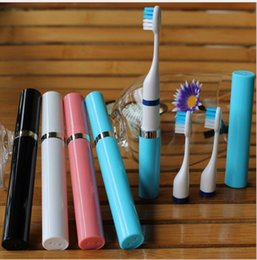 Wholesale Electric Tooth Kids Multi function Toothbrushes Battery Operated Travel Sonic Adult Toothbrushes Mini Size Oral Care Kit