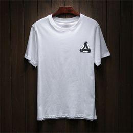 Cotton Print Material Canada - 2018 New Men's Summer Fashion New Brand Hip Hop T-shirt Men's Cotton Blend Material Casual T-shirt Letters and Prints
