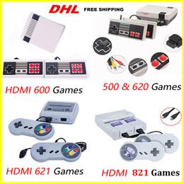 HOT Mini Mini 500 500 600 620 621 821 Консоль для видеоигр для игровых консолей NES с розничными коробками