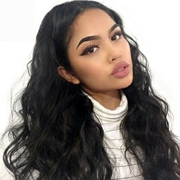 Human Hair Lace Wigs Queen UK - 360 Lace Frontal Wig Remy Brazilian Natural Black Body Wave Human Hair Wigs For Women Pre Plucked With Baby Hair King Rosa Queen