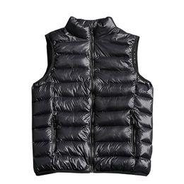 Wholesale mens green vest jacket for sale - Group buy 2018 New Fashion Solid Color Men Sleeveless Jacket Casual Winter Vest Male Slim Vest Mens Windproof Warm Waistcoat XL XL