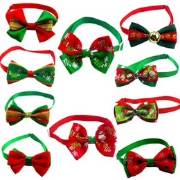 $enCountryForm.capitalKeyWord NZ - 2018 New Pet supplies Christmas Dogs bow tie series package pet jewelry bow tie variety of 10 color 50pcs   lot