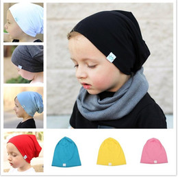 $enCountryForm.capitalKeyWord NZ - Designer Kid Knitted Beanies Skull Winter Ears Head Warmer Slouchy Hats Snow Cap Children Warm Hats Hair Bonnet Solid Color For Gift Sale