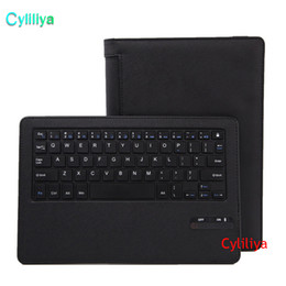 Plastic Stand For Tablets NZ - For Lenovo Yoga Tablet 3 8.0 inch Removable Wireless Bluetooth Keyboard + PU Leather Protective Case Stand Cover