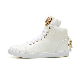 b85fb3cb0200 Size 37~44 High Quality Serpentine PU Leather Men Ankle Boots Men Hip Hop  Shoes Fashion Street Dance Men Shoes