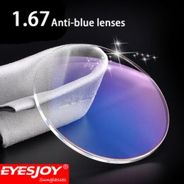 ThinnesT eyeglass lenses online shopping - Blue Light Proof Glasses Lens Prescription Lenses For Eyes Prescription Lenses Optical Super Thin Aspheric Resin Rx Lens