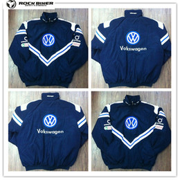 $enCountryForm.capitalKeyWord NZ - 2018 VOLKSWAGEN Embroidery Cotton Nascar Moto Car Team Racing Jacket Suit