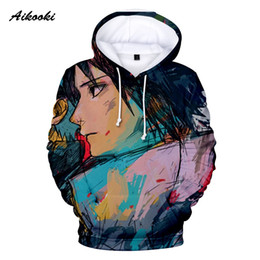 Hoodie Clothes Canada - Aikooki Naruto new fashion Cool sweatshirt Hoodies Men women 3D print Tee hot Style Streetwear Long Sleeve 3D Hoodie Clothing