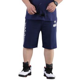 Mens Designer Summer Shorts Pants Plus Size 8XL Casual Sports Fitness Capris Drawstring Elastic Waist Knee Length New 2018 Fashion Clothes