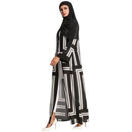 187114 Euramerica estilo vestido color musulmán de gran tamaño vestido de mujer túnica árabe con bufanda Musulman vestidos Musulman Vestidos