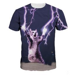 $enCountryForm.capitalKeyWord Canada - Lighting Horror Cat 3D T shirt Men Casual t shirts Hip Hop Flash Cute Cat T-Shirt Fitness Harajuku Male Streetwear tshirts