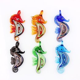 Glass Seahorse Pendant Online Shopping | Glass Seahorse Pendant for Sale