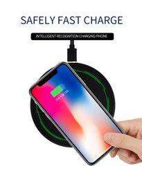 New iphoNe types online shopping - 2018 NEW Original Wireless Charger W Aluminum Alloy Wireless Fast Charging for Iphone Samsung with Type C USB Cable in Retail Box
