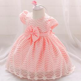 127e8b9b Ropa de bebé niña Vestido de novia para niñas Bautizo Princesa Vestido para  bebés 2 1 año Primer cumpleaños Vestido de fiesta para niña 6 12 meses