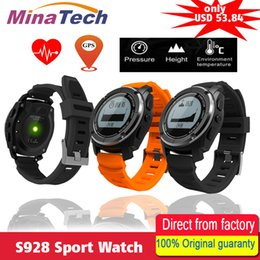 phone sensor 2018 - S928 Sport Smart Watch G-sensor GPS Outdoor Heart Rate Monitor Smart Wristband for Smartwatch Android IOS Smart Phone ch