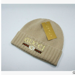 d97d513d0cd Women s Fashion Knitted Cap Autumn Winter Men Cotton Warm Hat Skullies  Brand Heavy Hair Ball Twist Beanies Solid Color Hip-Hop Wool Hats