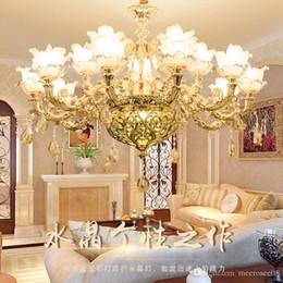 Bedroom Chandeliers Candles Australia - Luxury Candle Crystal Chandelier Lighting Fixtures Modern lustres de cristal Hanging Lamps For Bedroom Living Room