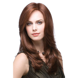 Anime wAve hAir online shopping - Hair Cap Cruella Deville Side Bangs Brown High Synthetic Cosplay Wig for Party Curly Anime Daily Hair Cosplay Heat Resistant for Women New