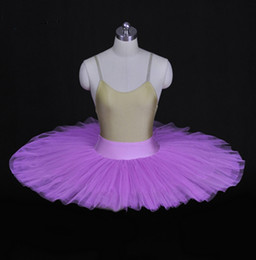 $enCountryForm.capitalKeyWord Australia - Purple Ballet Rehearsal Tutu dress Kids Black Ballet Half Tutu Professional Rehearsal Ballet Platter White Swan Practicing Pancake tulles