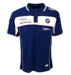 TKOSM 2018 Motorrad T-Shirt BMW Moto GP T-Shirt Motocross blaues und rotes Cross Country T-Shirt Wicking Schweiß Racing Motorrad Shirt